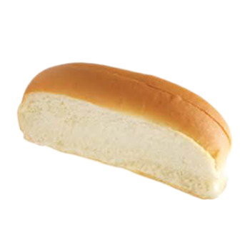 Superior 6u201d New England Frank Bun, Top Sliced